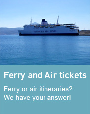 Ferry Air Tickets